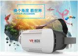 2016의 베스트셀러 Vr 가상 현실 상자 OEM 헤드폰 3D 영상 유리 2.0