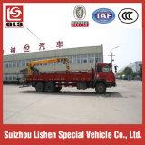 Shangqi 6*4 Crane Truck mit 16t/18t/20t XCMG Crane Telescopic Boom Truck Mounted Crane auf Sale