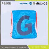 習慣によって印刷される安いファブリック質のドローストリング袋