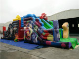 2016 nuovo Finished Fashionable Commercial Inflatable Slide per Adults