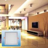 Leistungsfähiges energiesparendes doppeltes Farben-Quadrat PFEILER Light/LED vertieftes Licht