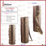 Designed 새로운 PU Leather Wine Carrier (5728R5)