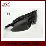 Vidros táticos do esporte ao ar livre dos óculos de proteção do golpe X100 de Airsoft