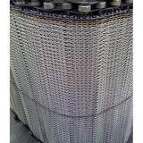 Correa del acoplamiento de alambre de acero inoxidable para el equipo de transportador