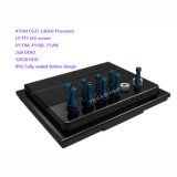 IP65 Voll-Gedichteter Fanless industrieller Panel PC mit Atom D525 15 Zoll-Touch Screen
