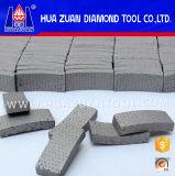Segment de diamant pour foret de base