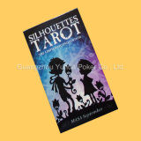 Kundenspezifischer Plastik kardiert Ptarot Karten Tarot mit gutem Preis