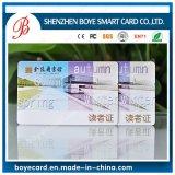 Cartão barato do PVC da alta qualidade