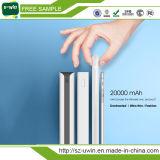 batería portable de la potencia de la batería externa 20000mAh