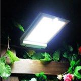 Indicatore luminoso solare moderno solare indotto del giardino di illuminazione morbida della lampada di movimento del corpo umano LED dei 46 LED della lampada chiara di induzione