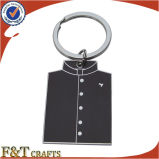 装飾の方法普及したDIY習慣は着せる形の金属Keychain (FTKC1714A)に
