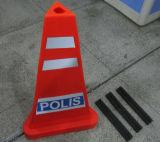 말레이지아 표준 교통 안전 제품 회전 PE 피라미드 소통량 콘