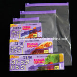 Recyclable покрашенный характеристикой мешок замка застежка-молнии