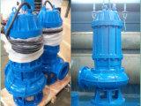 Las aguas residuales de la bomba sumergible del eje impulsor de acero inoxidable