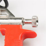 Double pistolet revêtu de téflon de mousse de pistolet à calfeutrer de cartouche