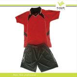 Vêtements de sport faits sur commande du Jersey du football de plein de personnalisation d'équipe dessus d'usure sublimés