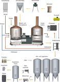máquina da fermentação de /Homebrew da máquina da cervejaria de /Beer do equipamento da fabricação de cerveja de cerveja 500L