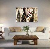 Peintures peintes à la main personnalisées de carreau de céramique de mode