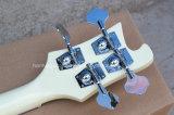 Гитара нот/4-String Hanhai электрическая басовая с сметанообразным - белое тело