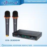 Demostraciones duales del hogar del micrófono de la radio KTV del VHF de la alta calidad, conferencia, presentador