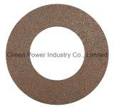 Garniture d'embrayage de qualité avec le cuivre