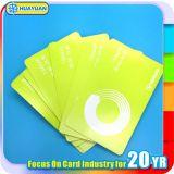 Cartão de papel sem contato Ultralight do bilhete do acesso MIFARE C RFID do evento