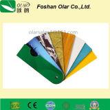 Panneau Panneau-UV de mur d'enduit de la colle de fibre