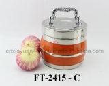 Cucinare-POT di Termico-Conservazione dell'acciaio inossidabile (FT-2415-C)