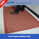 Couvre-tapis en caoutchouc de verrouillage Anti-Fatigue d'évacuation élevée/couvre-tapis en caoutchouc d'évacuation