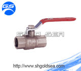 Stainless Steel Handle를 가진 금관 악기 Ball Valve 및 Threaded Connection, Natural Color Nickel에 있는 Available