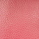 Cuero artificial sintetizado del bolso del zapato de la PU de la imitación de Microfiber (HST002)