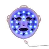 3D recargable Massage LED IPL Facial Mask para Wrinkle Anti-Aging Removal y Skin Rejuvenation con USB Adapter