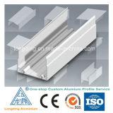 O alumínio expulsou perfil para a decoração de contorno de alumínio da mobília