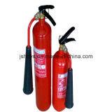 Konvexer Unterseite 2kg CO2 Hochdruckfeuerlöscher für legierten Stahl (Zylinder: EN1964-1)