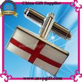 Cufflink золота металла для подарка промотирования (m-ck04)