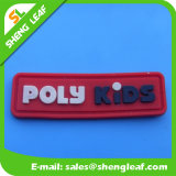 Kleid 3D PVC Rubber Plastic Clothing Custom Label