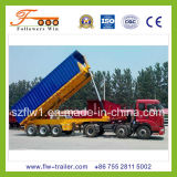 20feet 3axle Flatbed Tipper Semi Trailer
