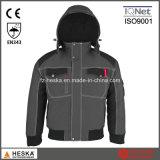 Mens 솔기 테이프 방수 안내하는 재킷 겨울 폭격기 재킷