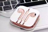 iPhone 로즈 Gold Earphone를 위한 이어폰