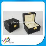 Rectángulo de regalo de madera de madera del rectángulo de reloj de la alta calidad de lujo