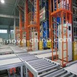 Sistema da automatização do armazém com Effiectively elevado