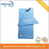 Etiqueta modificada para requisitos particulares de la caída de la ropa del papel de Kraft de la impresión (QYCI1537)