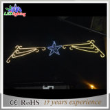 Straßen-Motiv-Licht des 300cm im Freien Weihnachtenled für Pole-Lampe