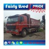 Verwendeter HOWO A7 Kipper des 6X4 HOWO Lastkraftwagens mit Kippvorrichtung
