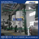 Máquina usada planta da refinação de óleo comestível da refinaria de petróleo da palma da máquina da refinação de óleo da palma