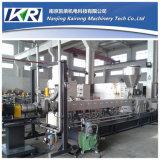 Plástico del PE del HDPE LLDPE del LDPE que granula el estirador de tornillo gemelo