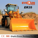 Everun Brand Wheel Loader Hoflader (ER35) с Ce Certificate
