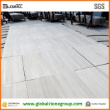 普及した中国GrayかWhite/Purple Wooden Marble Floor Tiles