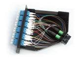 Пульт временных соединительных кабелей оптического волокна 24f MPO/MTP