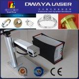 machine de gravure de laser de la fibre 20watt pour de petites pièces en acier